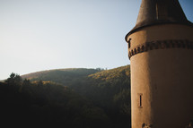 Castle tower in Luxembourg