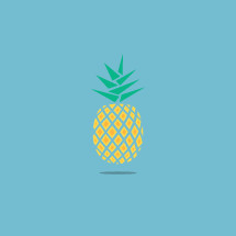 pineapple illustration.