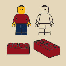 lego figure, blocks, legos, building blocks, illustration