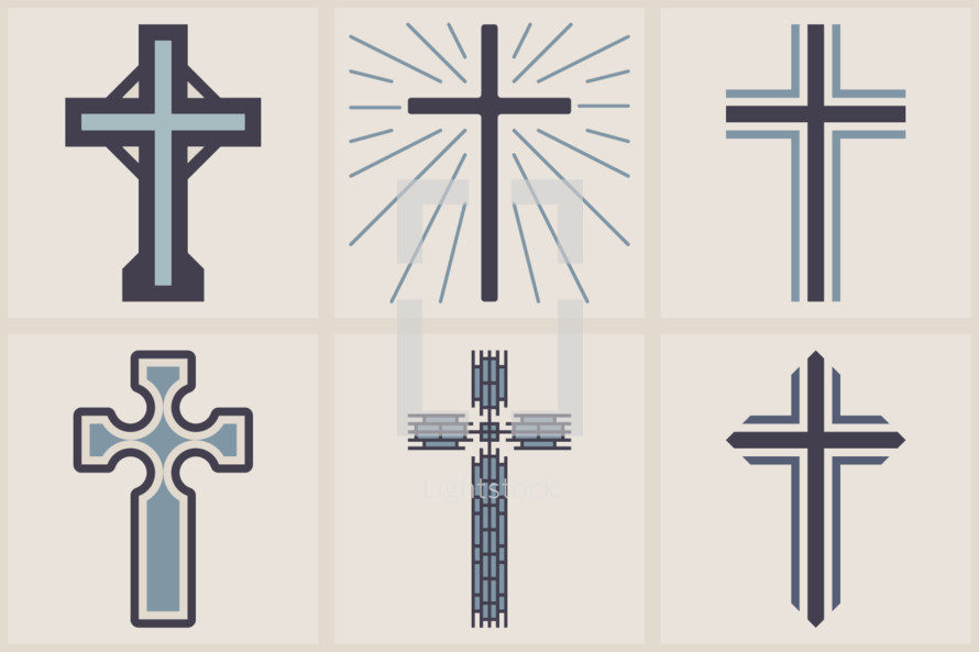 cross graphics