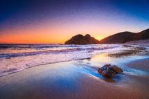 Pfeiffer Beach at sunset