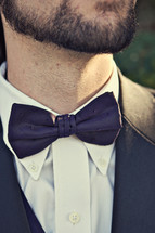 Man wearing bowtie