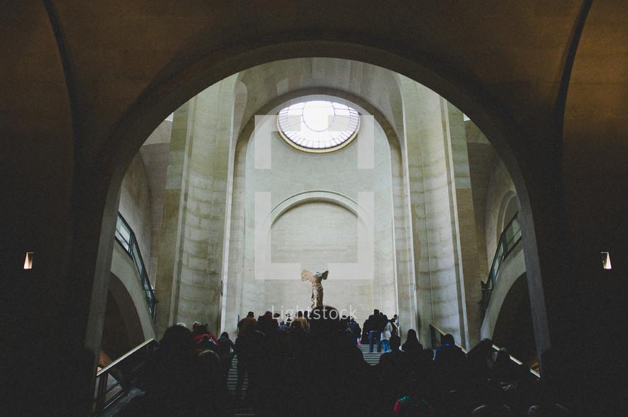 tourists in Paris