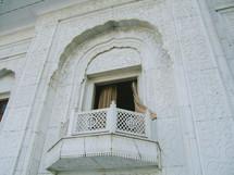 palace window balcony