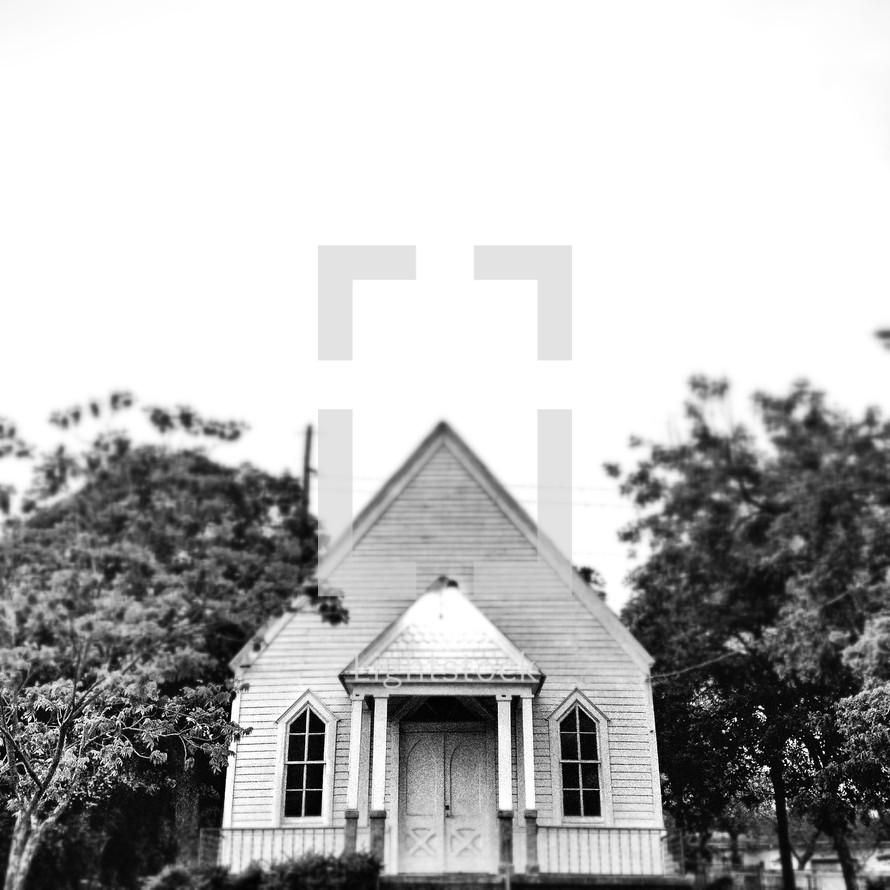 Small church house