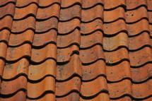 brick roof tiles