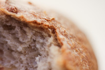 bread loaf closeup