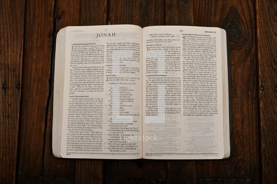 Scripture - Jonah