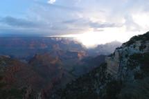 Grand canyon, mountains