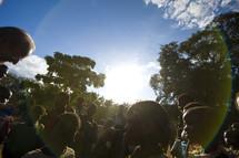 Village children in Africa