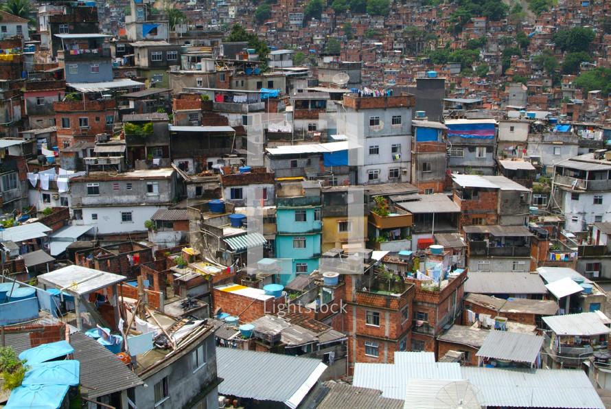 Brazilian Shanty town