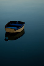 dinghy boat on water