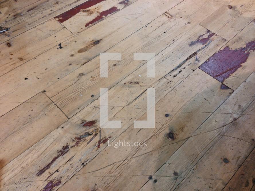 wood slats - texture