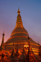 Great Dagon Pagoda buddist temple