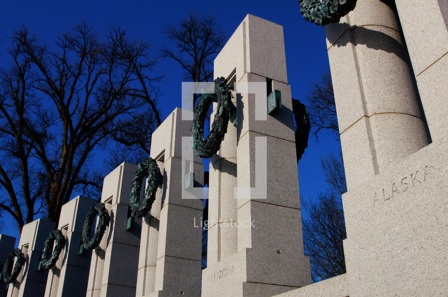 World War 2 memorial Washington D.C.