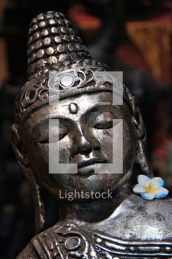 Indonesian statue of Budha