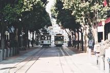 trolley Lines in San Francisco