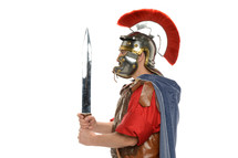 Roman Soldier with a sword