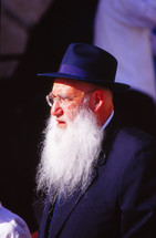 Orthodox Jew at the wailing wall