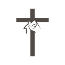 cross, dove, house, symbol, icon, Christianity
