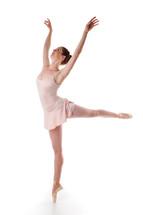 portrait of a ballerina