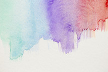 blue, purple, red, watercolor, background
