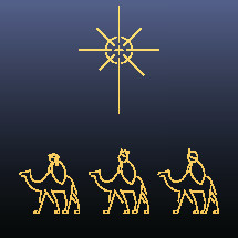Magi and Star of Bethlehem