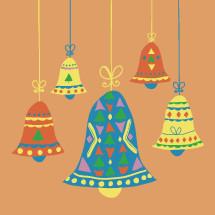 hanging Christmas bells