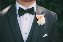 man in a bowtie and tuxedo