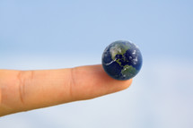 The World at your fingertip.