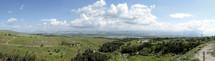 Beth Shean landscape panorama