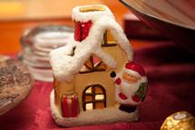 santa and house Christmas decoration