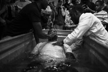 a baptism in water