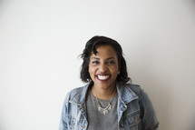 headshot of a happy African American woman