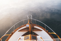 bow of a boat