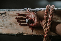 nailed to the cross