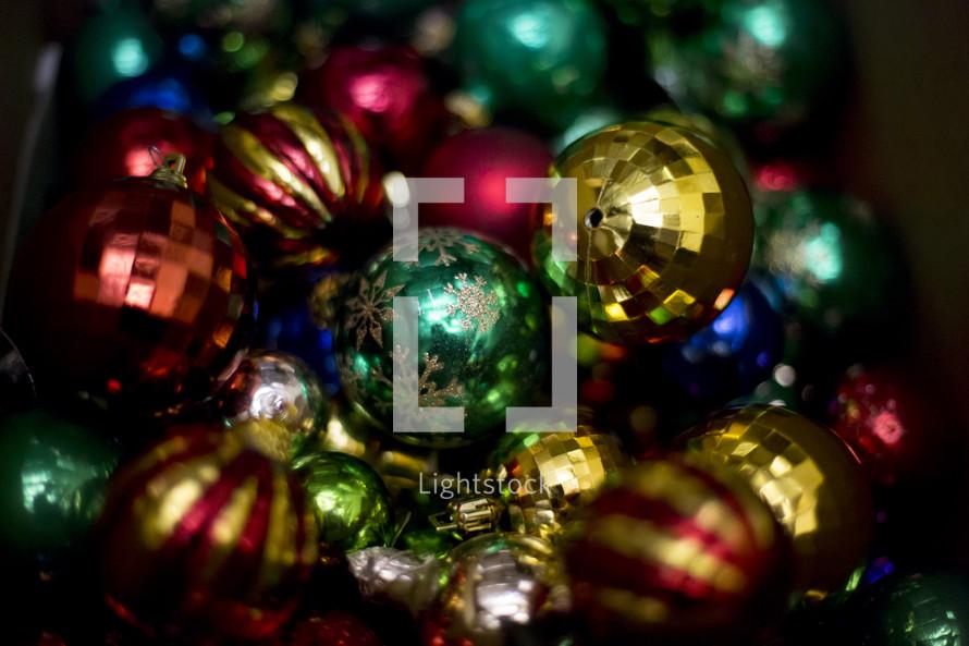 Christmas tree ornament bulb