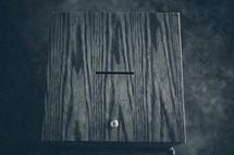 slot in a prayer box