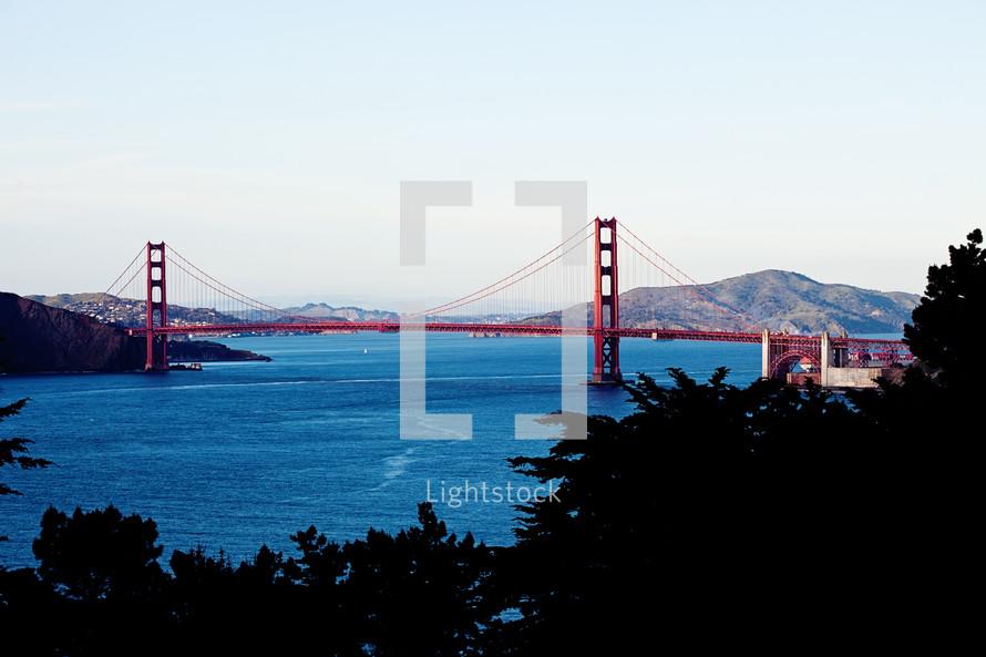 Golden gate bridge San Francisco Bay Area  California