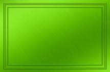 green background with border
