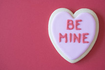 BE MINE cookie