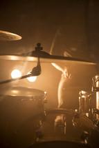 symbol on a drum set