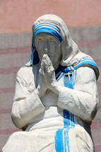 Statue of Mother Theresa