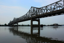 Bridge over water.