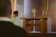 Prayer before the eucharist in adoration