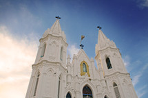 Evening at Velankanni