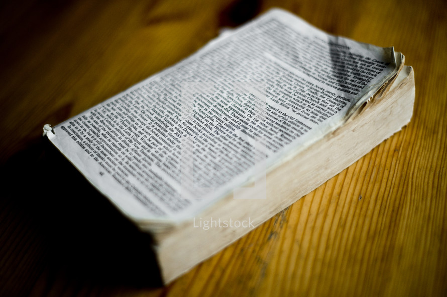 cover torn off a book