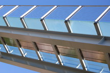 railings on a roof