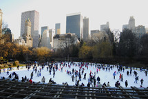 New York Central Park Ice Skating Rink
