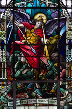 St Michael Stained Glass